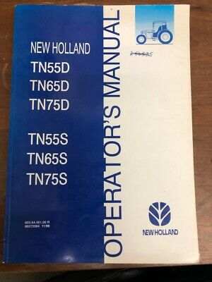 Farming & Agriculture 2000 New Holland Tractor Operators Manual Tn55v Tn75n