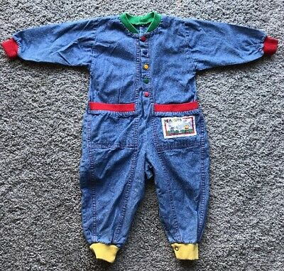 Vintage Peanuts Baby One Piece Outfit Size ?18-24 Mo?
