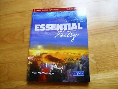 ESSENTIAL POETRY Leaving Cert Ordinary Level 2018 Niall McMonagle brand new