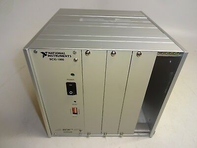 National Instruments Scxi-1000 Mainframe Chassis 4 Slot 181445G-01