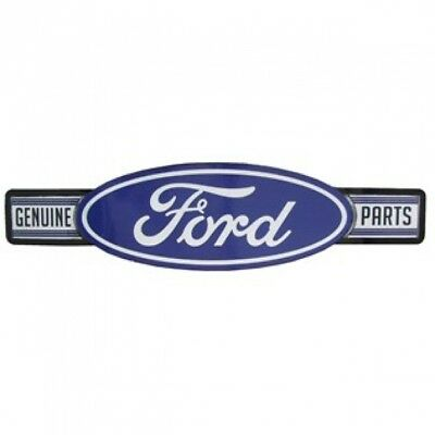 Ford Genuine Parts Embossed Old Rustic Looking  Sign Dealer