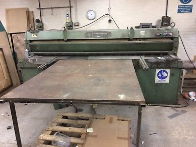 Edwards Sheet Metal Guillotine Shear Fabrication