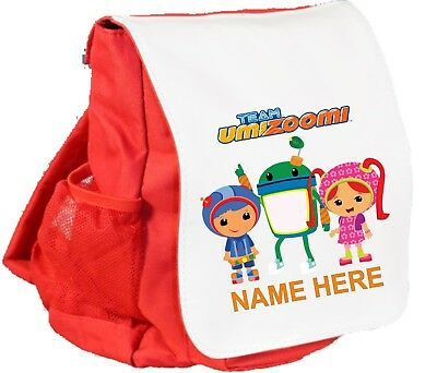 Team Umizoomi Personalised RED Childs Back Pack