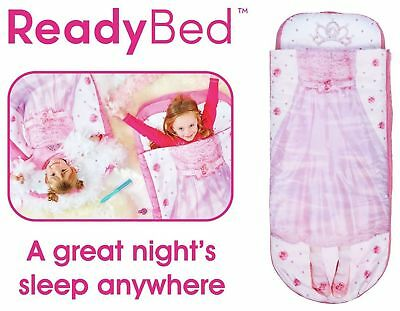 Kids Children Juniors Inflatable Princess Sleeping Camping Bag Air Bed Ready bed