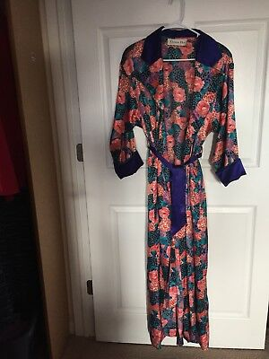 Small Christian Dior Robe Colorful Vintage