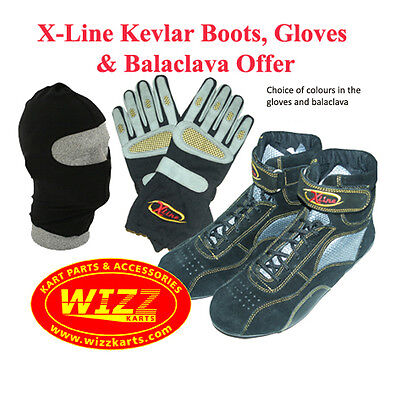X-Line Adult / Junior Boots (Sizes 7 - 11) Gloves & Balaclava Offer