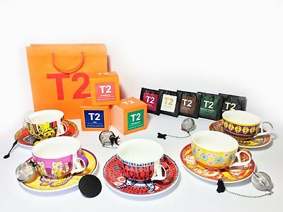 T2 Tea Frankies Forest cup and saucers tea gift pack   2