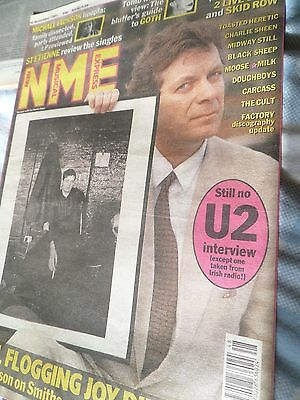 Joy Division ,ian Curtis &tony Wilson  Factory The Smiths Cover Only Of The Nme