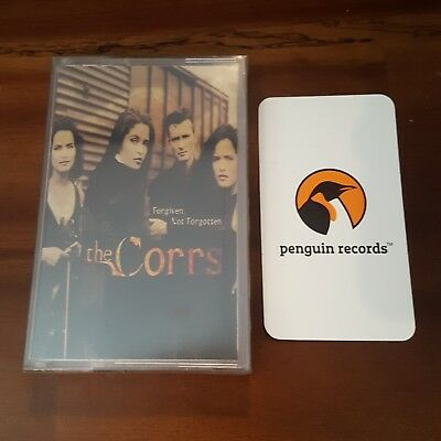 The Corrs - Forgiven, Not Forgotten Cassette Tape Korea Edition Brand New Sealed