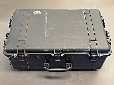Pelican Peli 1650 Hard Case Wheels Handle Foam Equipment Protection Black Large