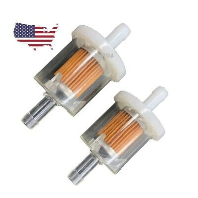 Fuel Filter Briggs & Stratton 493629 691035 Fuel Filter Lawnmower 2 Pack