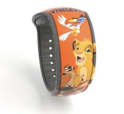Disney Parks Magic Band Lion King Timon Pumba Simba Zazu Hakuna Matata NEW