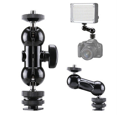 "1/4"" Clamp Ball Head Magic Mount Arm Mount Adapter for DSLR Camera LCD Monitor"