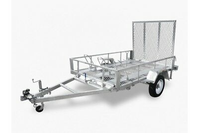 8x5 Galvanised Trailer Motorbike ATV Lawnmower Golf Buggy Tamworth Armidale