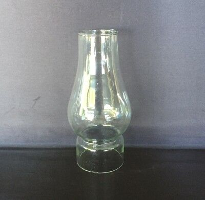 Glass Oil Lamp Chimney Tram Comet -2.5 Inch (64mm) Base, 17cm Tall.