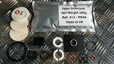 For Land Rover Discovery 3 4 Range Rover Sport Air Compressor Pump Repair Kit