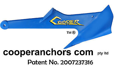 1KG NYLON COOPER ANCHOR Jetskis, Boats to3.5m, Inflatables. *FREE POST AUS*
