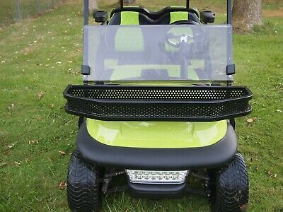 Front Clay/ Utility Basket for Club Car Precedent Golf Cart w/ Mounting Brackets
