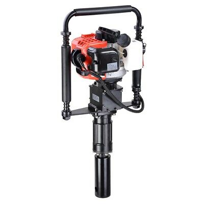 32.7cc 2-Stroke EPA Petrol Post Driver Pile Star Picket Rammer Fence Max 9000rpm