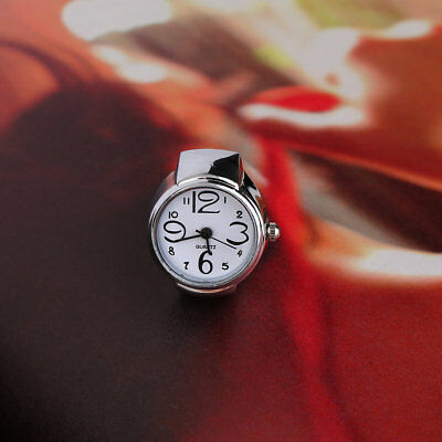 Ring Watch Quartz Finger Watches Rings Gifts Jewelry Steel Ring Watches WN