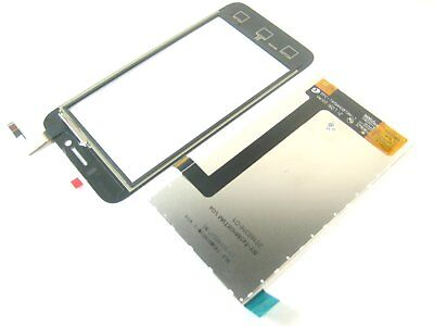 Black~Touch Digitizer Screen with LCD Display Repair for Huawei Ascend Y560