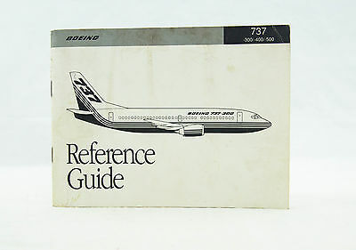 1990 boeing 737 300 400 500 reference guide original aircraft rh picclick co uk 737 management reference guide free download 737 management reference guide free download