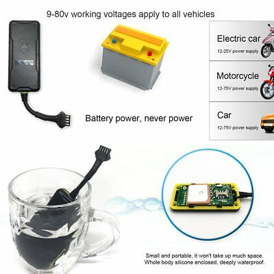 Vehicle Motorcycle Vehicle GPS Tracking Locator Waterproof And Dustproof NI
