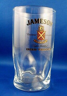 CLEARANCE!! RARE Special JAMESON IRISH WHISKEY Glass Bar Man Cave COLLECTABLE Au