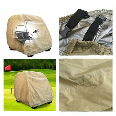 "95"" Golf Cart Cover 2 Passenger Enclosure Storage For Yamaha EZ Go Club Car NI"