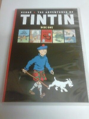 Herge The Adventures Of Tintin - 2 Disc  Dvd - 10 Episodes