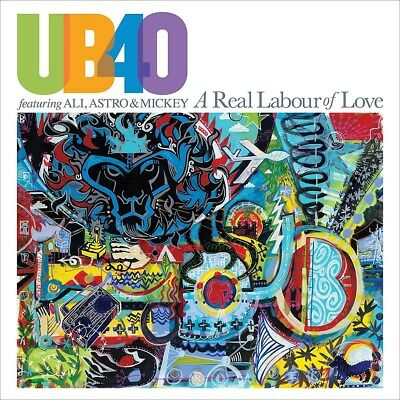 A Real Labour of Love - UB40 (Album) [CD]