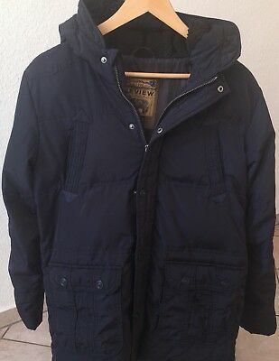 review for teens gef tterte winterjacke jungen gr 164 170 nordic navy eur 15 00. Black Bedroom Furniture Sets. Home Design Ideas