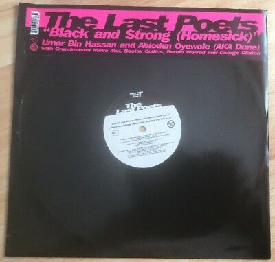 "The Last Poets - Black And Strong 12"" (Black Arc/rykodisc 1995)"