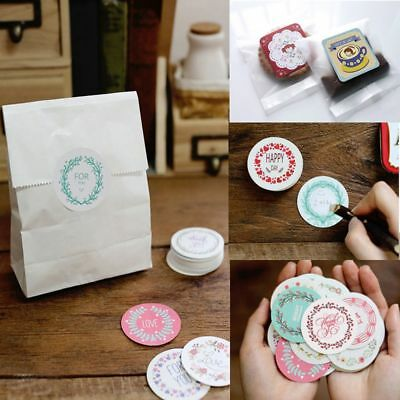 38Pcs/lot Round DIY Sticker Paper Girl Stripe Diary for Home Decoration