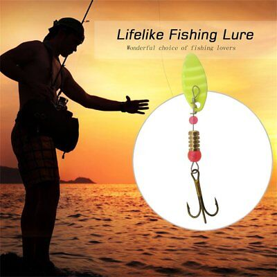 30X Artificial Bait Lures Fishing Lures Spinner Bait Attractant Hook Set NI