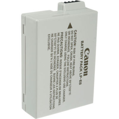 Canon LP-E8 Rechargeable Lithium-Ion Battery Pack (7.2V, 1120mAh) #4515B002
