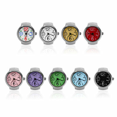 Ring Watch Quartz Finger Watches Rings Gifts Jewelry Steel Ring Watches NI