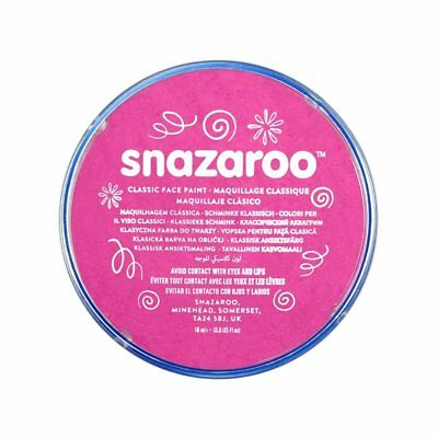 Snazaroo Classic Face Paint 18ml Fuchsia Pink 2 packets