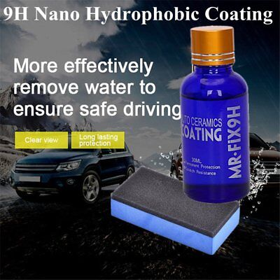 Anti Scratch Super Hydrophobic Nano Glass Coating Car Liquid Ceramic Paint WN