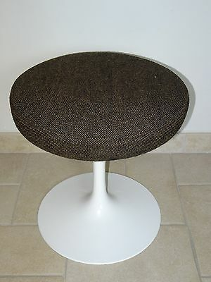 ancienne tabouret EERO SAARINEN tulip stool KNOLL INTERNATIONAL 1958 pied tulipe