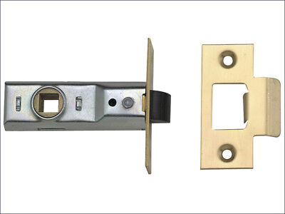 "Union Mortice Latch Brass or Chrome Length 63mm or 76mm (2.5"" or 3"") BNIP"
