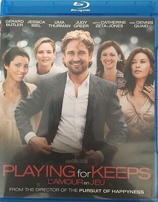 playing for keeps // blu-ray // no dvd // Gerard Butler // Jessica Biel