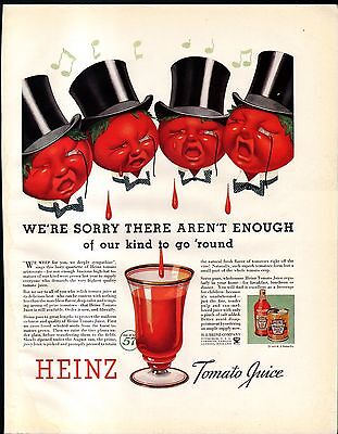1935 Southern California & Heinz 57 Ads- Holllywoods