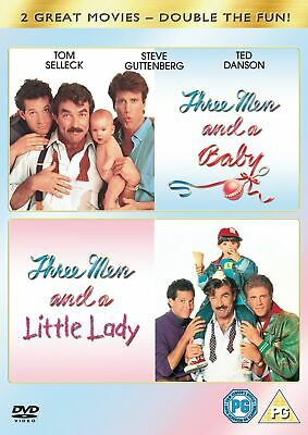Three Men and a Baby/Three Men and a Little Lady (Box Set) [DVD]