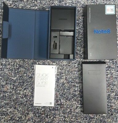 Samsung Galaxy Note 8 BOX ONLY NO PHONE