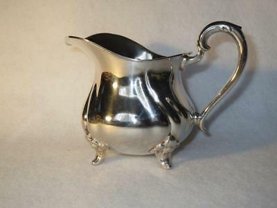 Vintage Silver Footed Creamer Marked Crown 835 Star  ~ Cream Pitcher ~ Germany