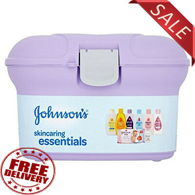 Johnson's Baby Skincaring Essentials Box Ideal New Baby Gift Present