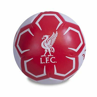 Liverpool FC Official Crest Design 4 Inch Mini Soft Ball (SG11020)