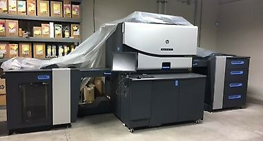 HP Indigo 7800 Digital Press with 2 chillers- Omaha, NE