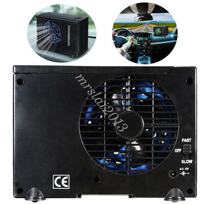 Home Car Cooling Fan 12V Portable Cooler Water Ice Evaporative Air Conditioner